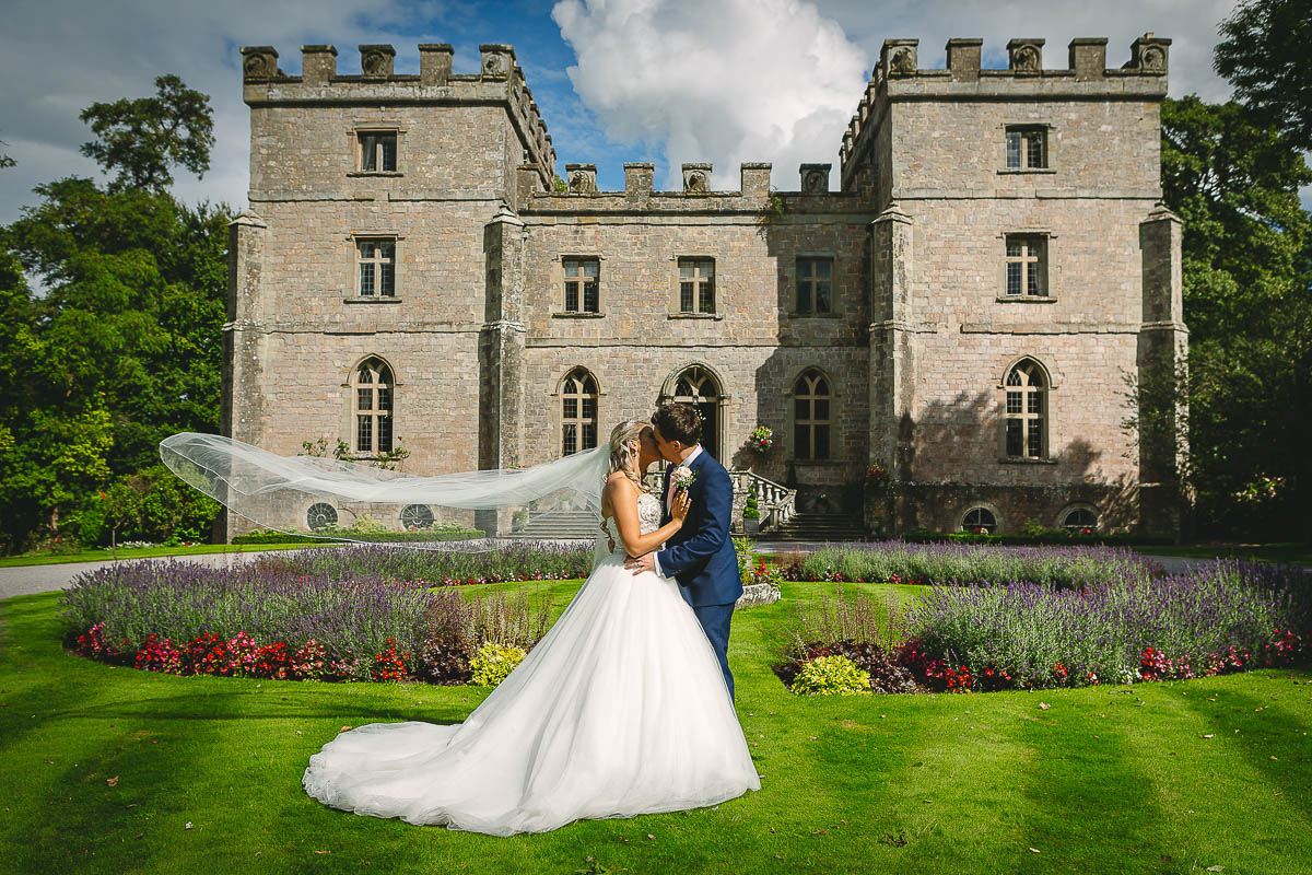 white villa films and photography weddings home slideshow clearwell castle couple kiss veil