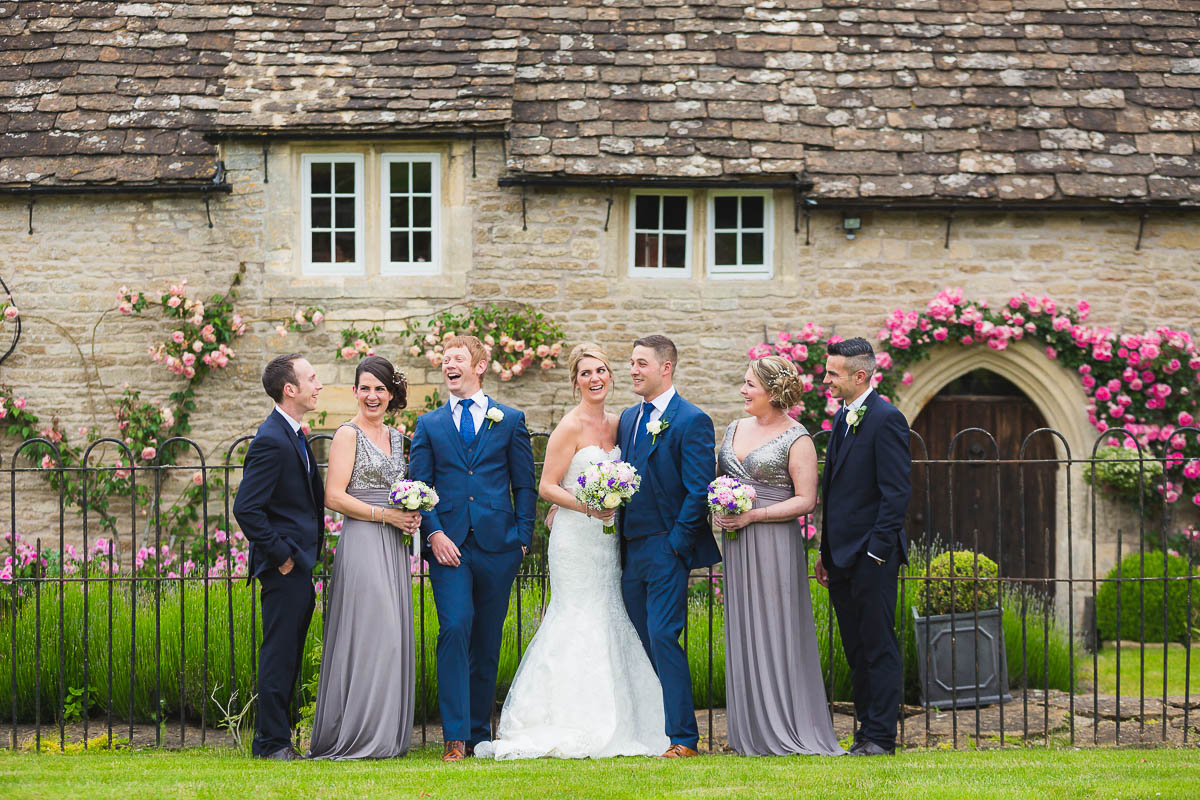 white villa films and photography weddings home slideshow wick farm bridal party laughing