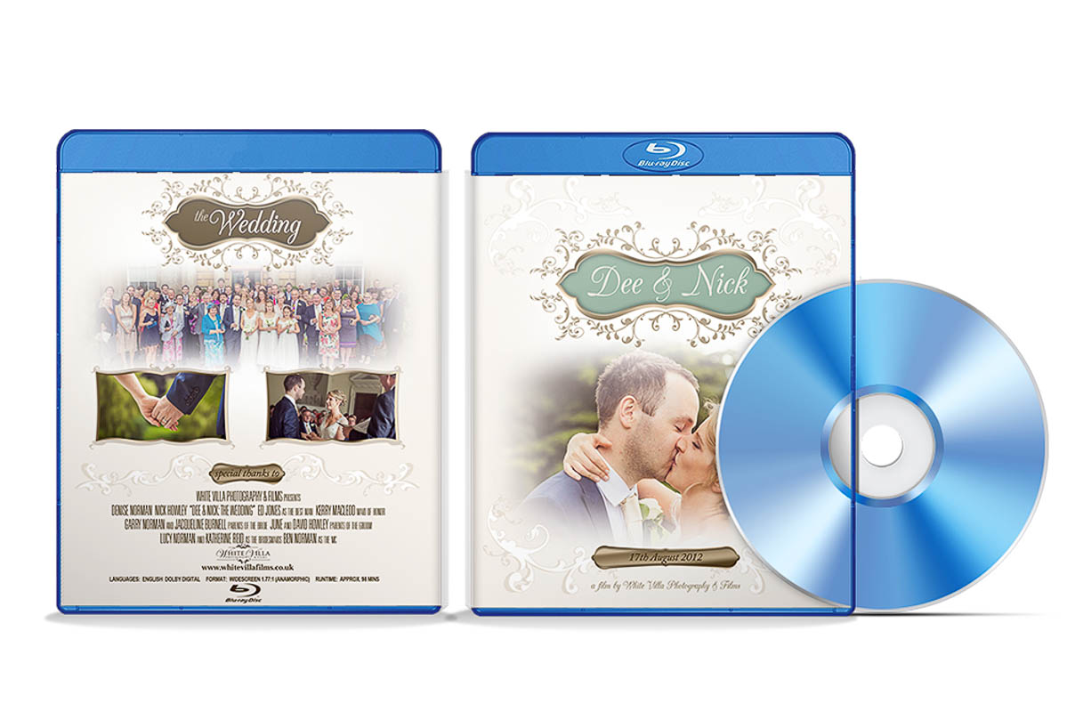 white villa wedding photography films videography film products blu ray